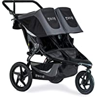 BOB Gear Revolution Flex 3.0 Duallie Double Jogging Stroller | Smooth Ride Suspension + Easy Fold + Adjustable Handlebar…