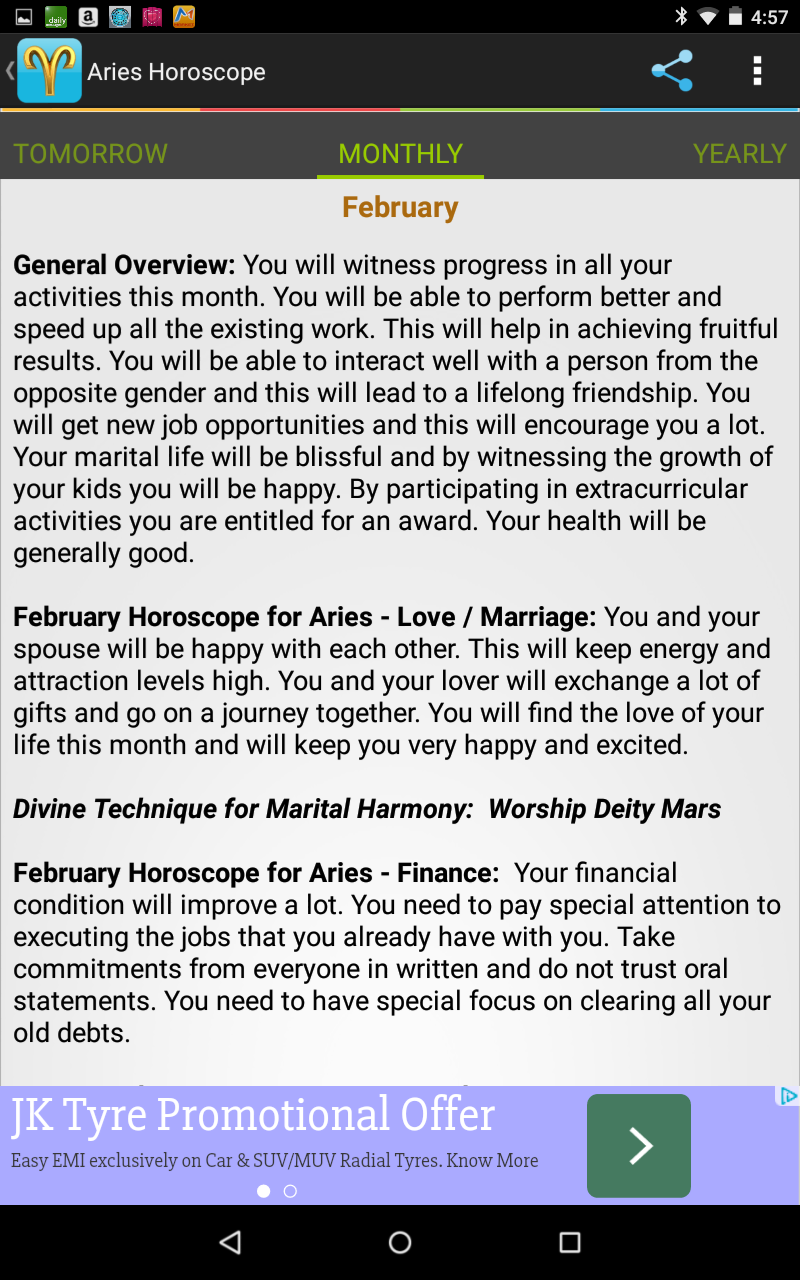 Aries Horoscope: Amazon ca: Appstore for Android