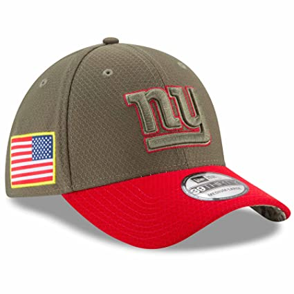 info for 5cd1e 30f93 New Era New York Giants NFL 39THIRTY 2017 Sideline Salute to Service Hat S M