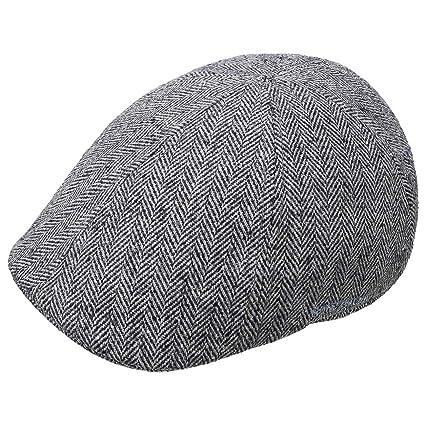 STETSON Texas Cotton Flatcap mit UV-Schutz Schirmmütze Baumwollcap Schiebermütze