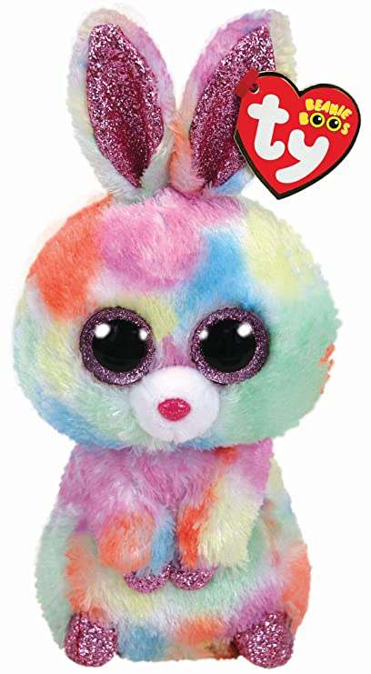 4e76b5ab52f Amazon.com  Ty Beanie Babies 37276 Boos Bloomy The Easter Bunny Boo ...