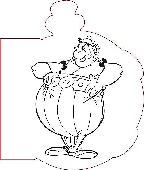 Clairefontaine 812871c Un Bloc De Coloriage Astérix De 66 Pages 13 5x16 Cm Motifs Potion Magique