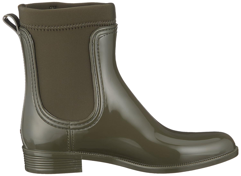 Tommy Hilfiger Damen Material Mix Rain 302) Boot Gummistiefel Grün (Military 302) Rain c40c31