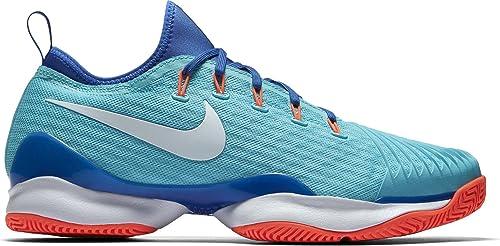 separation shoes 74823 bcee9 Nike Air Zoom Ultra React Sz 12 Tennis Mens Polarized Blue/White-Medium Blue