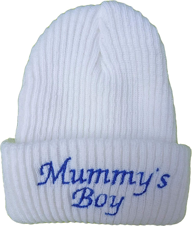 mummys//mammys boy cotton Hat  NEWBORN ONLY Babys  Embroidered daddys