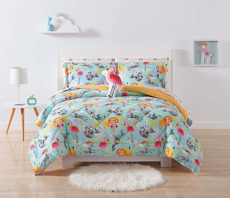 Laura Hart Kids Comforter Set Twin XL, Party Animals