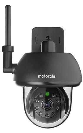 Motorola - Cámara Scout 73 para vigilar mascotas, HD, negra, para interiores,