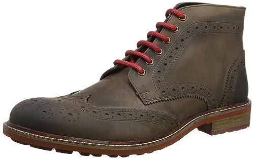 41f1a0cbd40d Joe Browns Men's Perfection Waxed Leather Boots Classic (Brown), 11 UK 45 EU