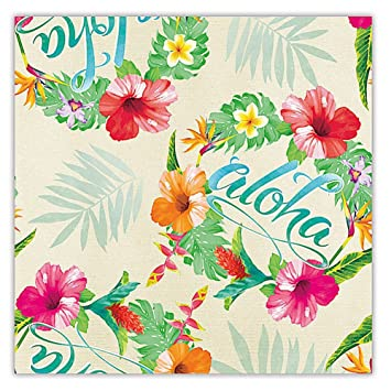 Amazon aloha floral hawaiian tropical gift wrap paper 2 rolls aloha floral hawaiian tropical gift wrap paper 2 rolls mightylinksfo
