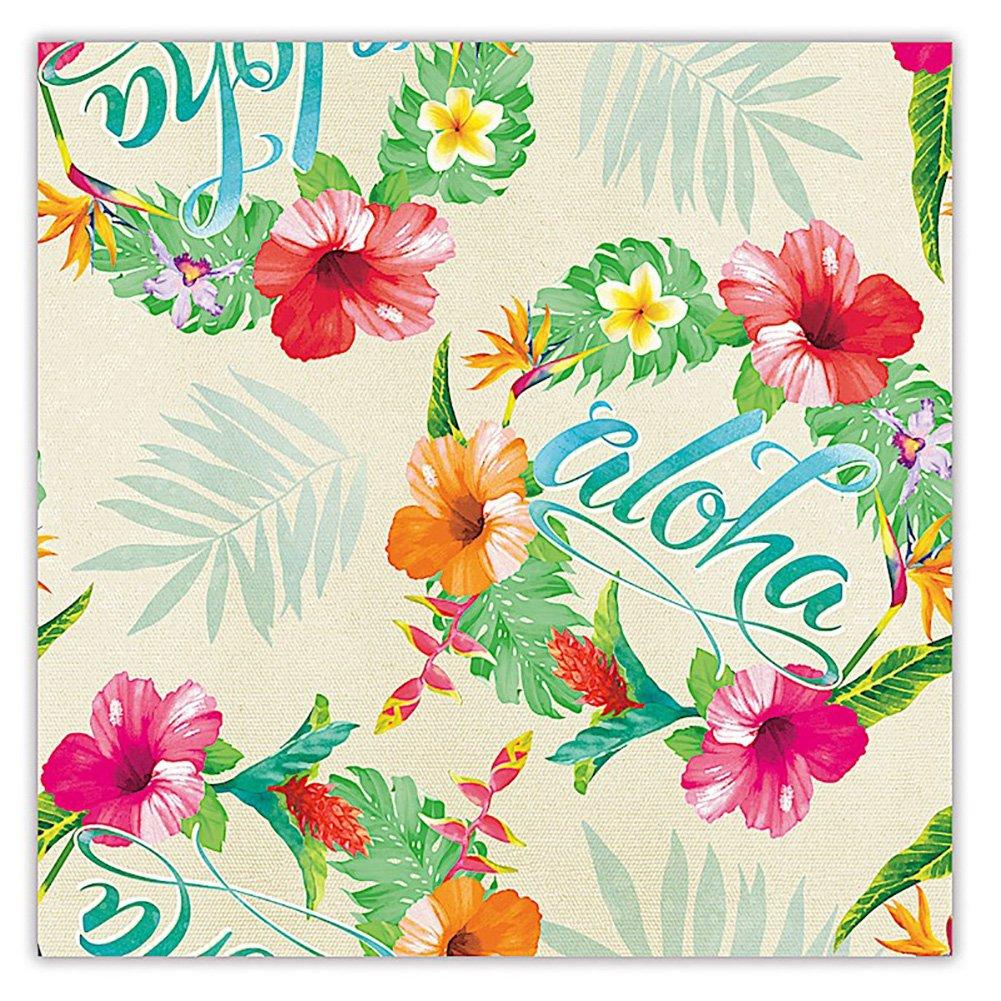Amazon hula honeys hawaiian gift wrap paper 2 rolls health aloha floral hawaiian tropical gift wrap paper 2 rolls izmirmasajfo Gallery