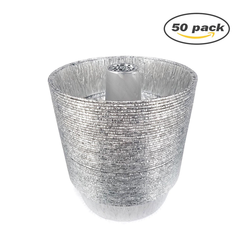 Desechables de papel de aluminio sartenes - juego de redondo ...