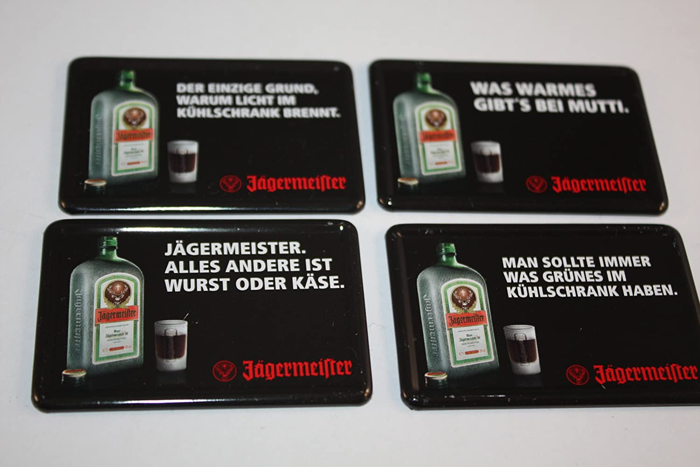 Kühlschrank Jägermeister : Jägermeister kühlschrankmagnete er set amazon sport freizeit
