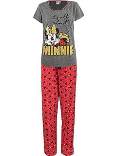 Disney Womens Minnie Mouse Pajamas