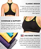 Active1st Black and Yellow Fitness Women's Sports