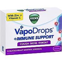 Vicks VapoDrops Immune Support Blackcurrant 16pk