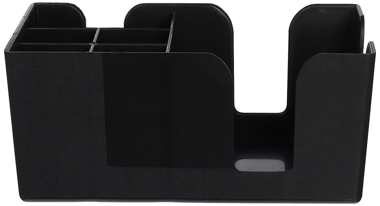 "American Metalcraft BAR6 Plastic Bar Organizer with 6 Compartments, 9.5"" L x 5.75"" W, Black"