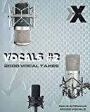 Vocals Volume 2 - Male & Female Studio Acapellas