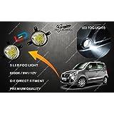 Volga Led Bumper Fog Lights For Maruti Suzuki Wagon R New (Set Of 2) Premium Quality