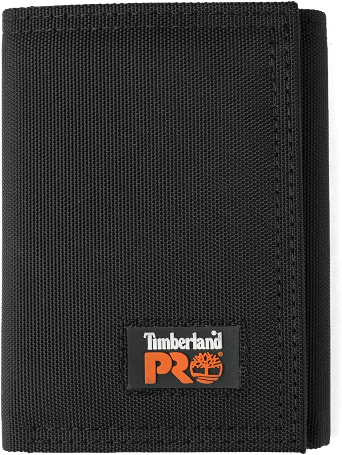 Timberland PRO Men's Cordura Nylon RFID Trifold Wallet with ID Window