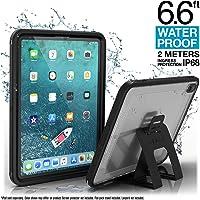 """Coque Étanche pour iPad Pro 11"""" Édition 2018 par Catalyst - Étanche jusqu'à 2m - Protection Totale, Ultra Résistance aux Chutes, Support Multi-Angle Inclus, Ecran Protecteur Intégré - Noir"""