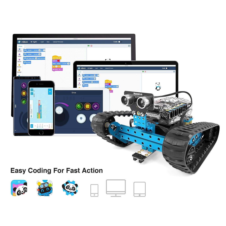 Makeblock 90092 Mbot Ranger Transformable Stem Educational Robot Snap Circuits Jr Select By Elenco Electronics Inc On Barstons Childs Kit Robotics Kits Amazon Canada