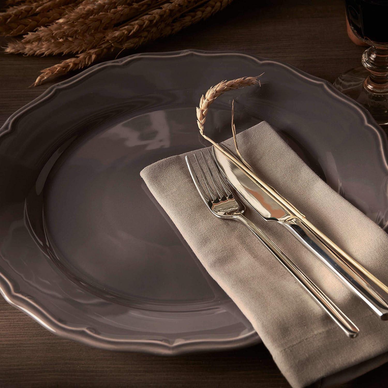 /Ø 32 cm BUTLERS EATON PLACE Platzteller wei/ß Geschirr mit klassischer Eleganz