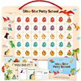 Potty Training Chart for Toddlers,Boys,Girls - Dinosaur Design - Magnetic Sticker Chart, Waterproof Magnetic Potty…