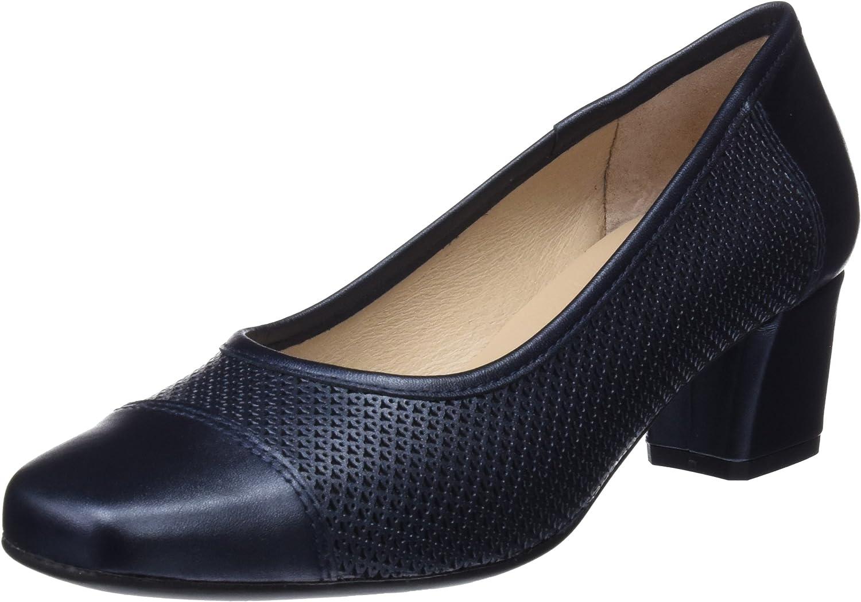 DCHICAS 1515 Perla River, Zapatos de tacón con Punta Cerrada para Mujer