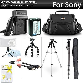Amazon.com: Advanced – Kit de accesorios para Sony Alpha ...
