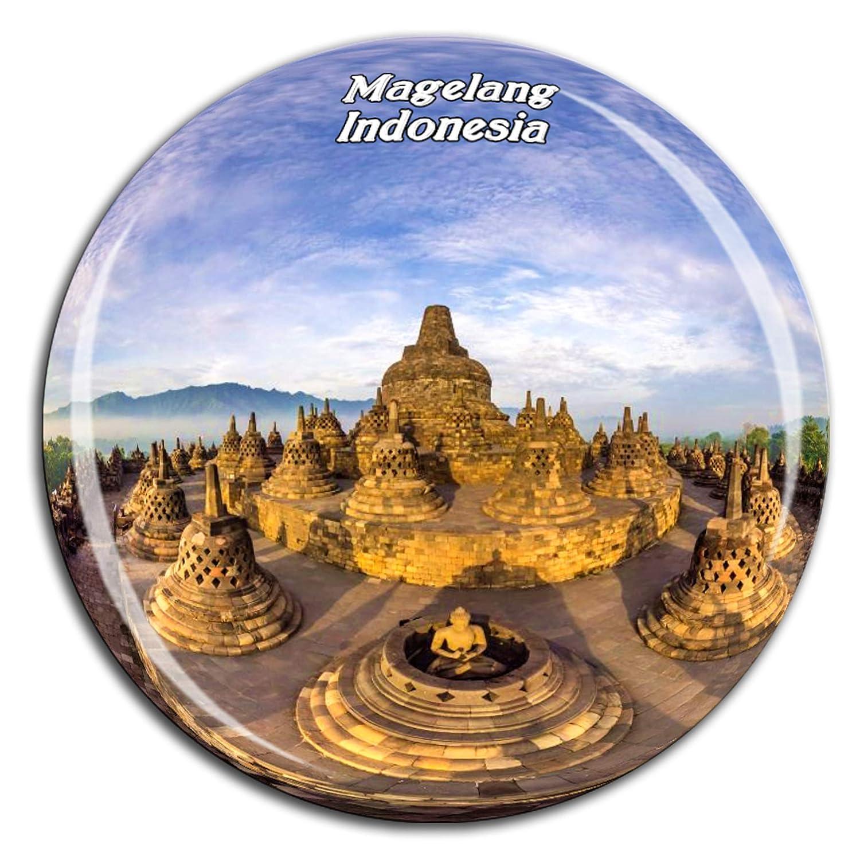 Weekino Souvenir Templo Borobudur Magelang Indonesia Imán de ...