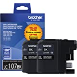 Brother Printer LC1072PKS Ink, 2-Pack