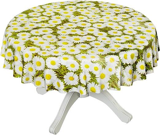 Hule mesa mantel de hule lavable camomila tamaño a elegir ...