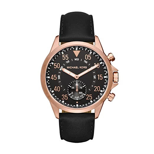 Michael Kors Reloj Analogico para Hombre de Cuarzo con Correa en Cuero MKT4007: Amazon.es: Relojes