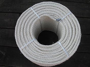 20 m Sisal cuerda sisal cuerda Diámetro. 10 mm Natural Ware Para Rascador para gatos Árbol + Sin Tratar +: Amazon.es: Productos para mascotas