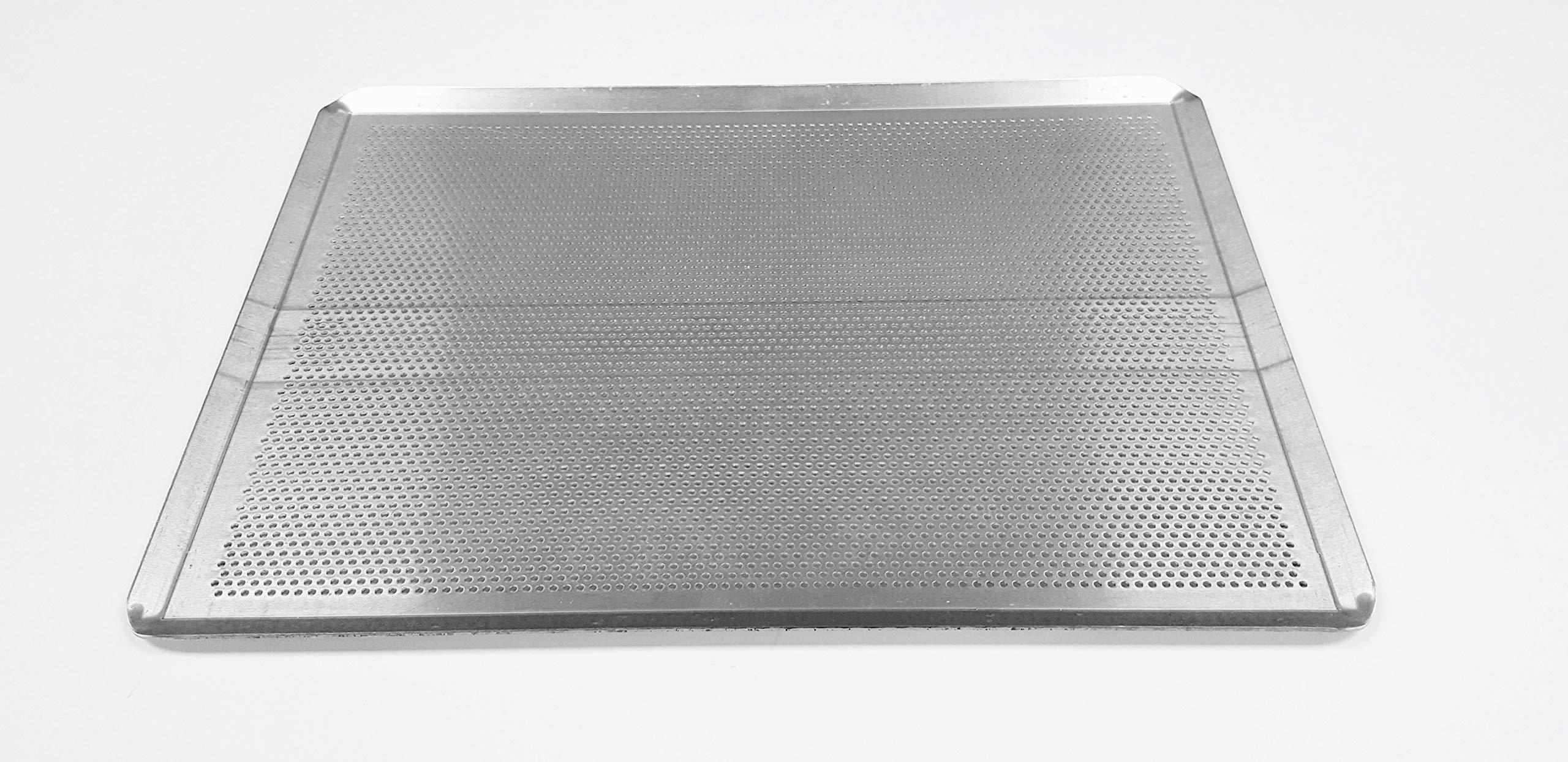 Sasa Demarle HG330460 Aluminum Perforated Sheet Pan, 18'' Length, 13'' Width, 1'' Height by Sasa Demarle (Image #3)