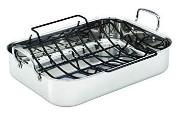 Anolon Triply Clad Stainless Steel Roasting Pan
