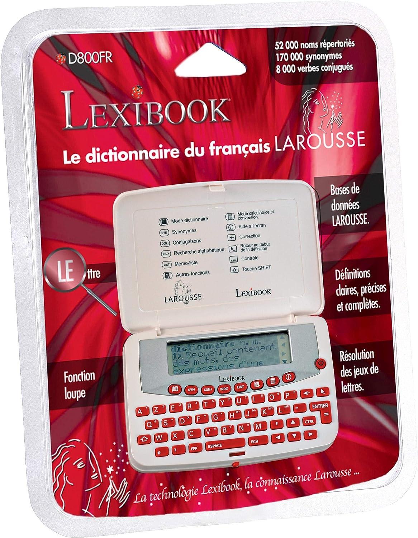 Lexibook D800fr Dictionnaire Electronique Larousse Amazon Fr
