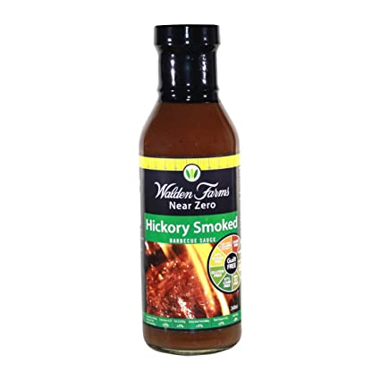 Walden Farms - Salsa de barbacoa sin calorías Hickory - 12 oz.