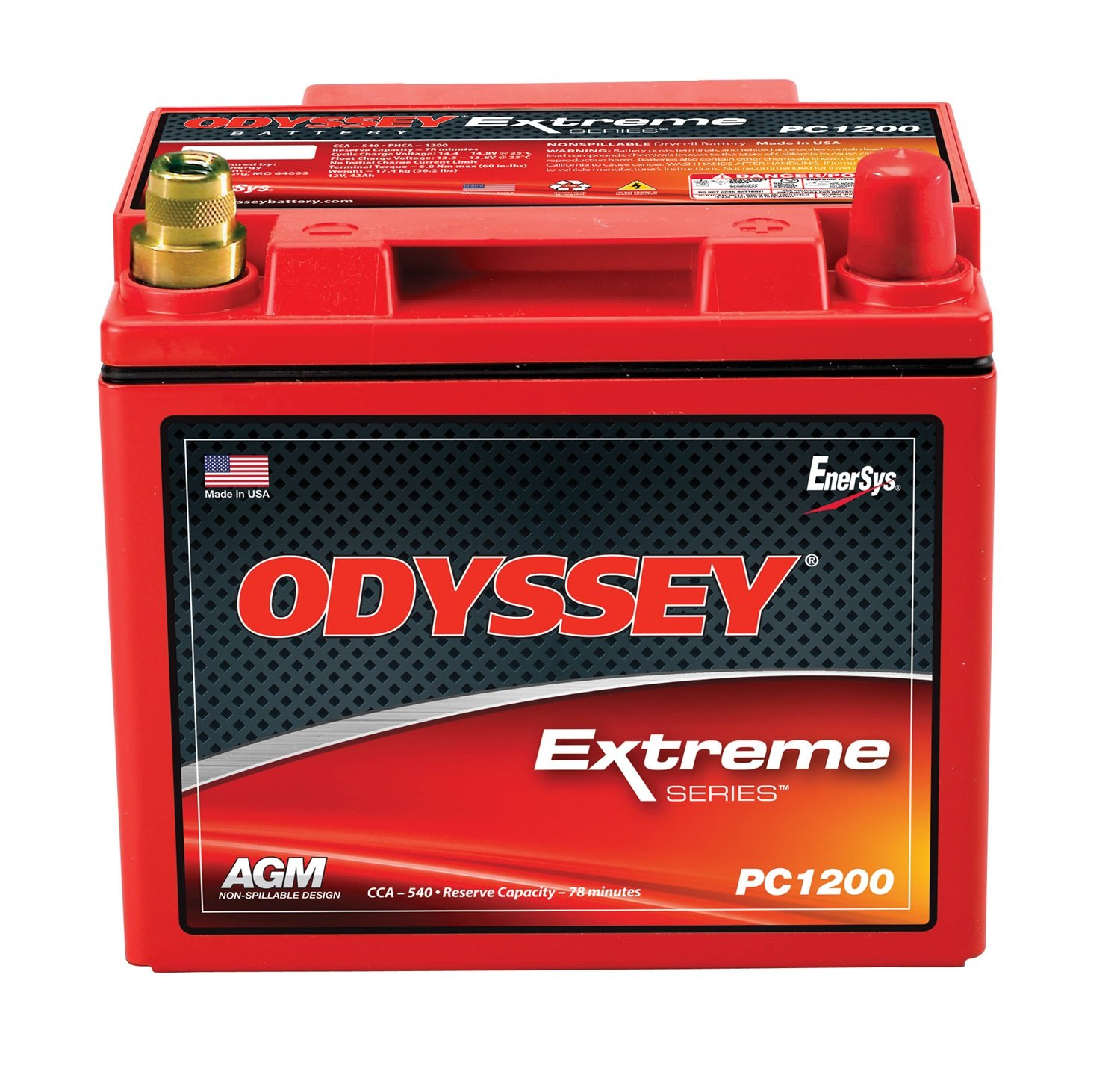 Odyssey Pc1200mjt Automotive And Ltv Battery Modified Power Wheels Higher Amp 12 Volt