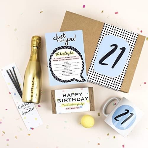 21st Birthday Box