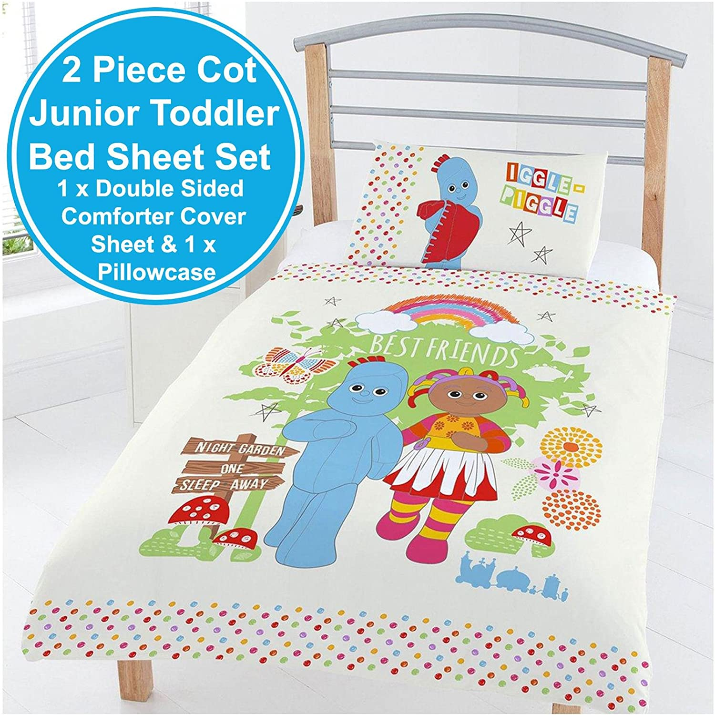 In The Night Garden Best Friends Junior Duvet Set Polyester Marshmallow 2 1 Flip  Open Sofa