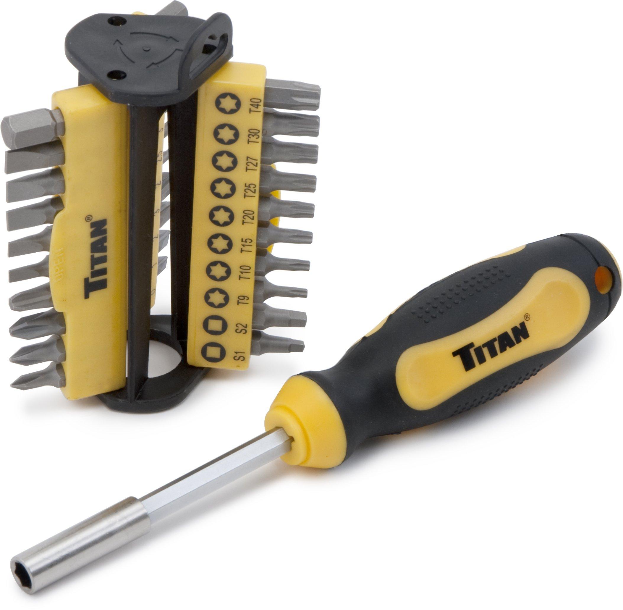 Titan Tools 98187 Set de controladores de brocas (31 Pz.)