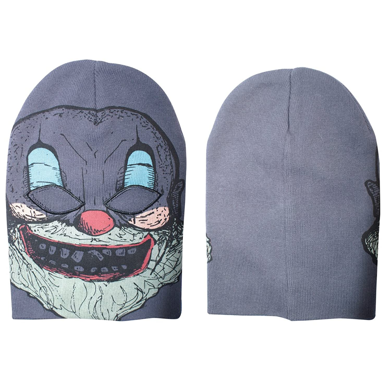 Generic - Grey, Crazy Clown Ski Mask