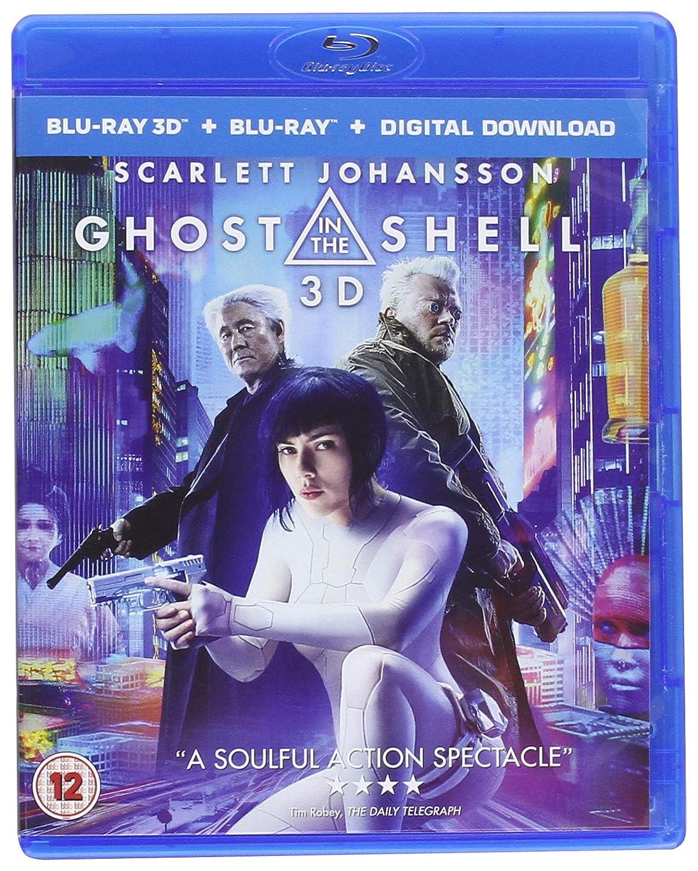 Ghost In The Shell 2D Bd + 3D Bd+Itunes Edizione: Regno Unito Reino Unido Blu-ray: Amazon.es: Cine y Series TV