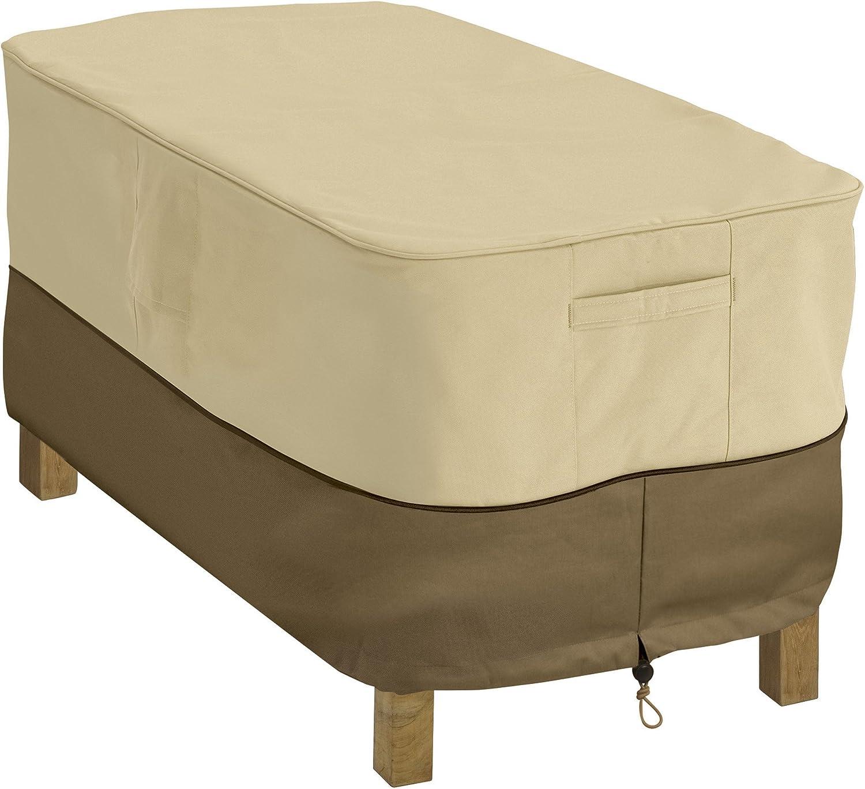 Veranda Water-Resistant 48 Inch Rectangular Patio Coffee Table Cover