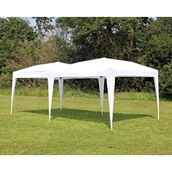 Palm Springs 10 x 20 EZ POP UP WHITE Canopy New Gazebo NO Sidewalls  sc 1 st  Amazon.com : no white tent - memphite.com