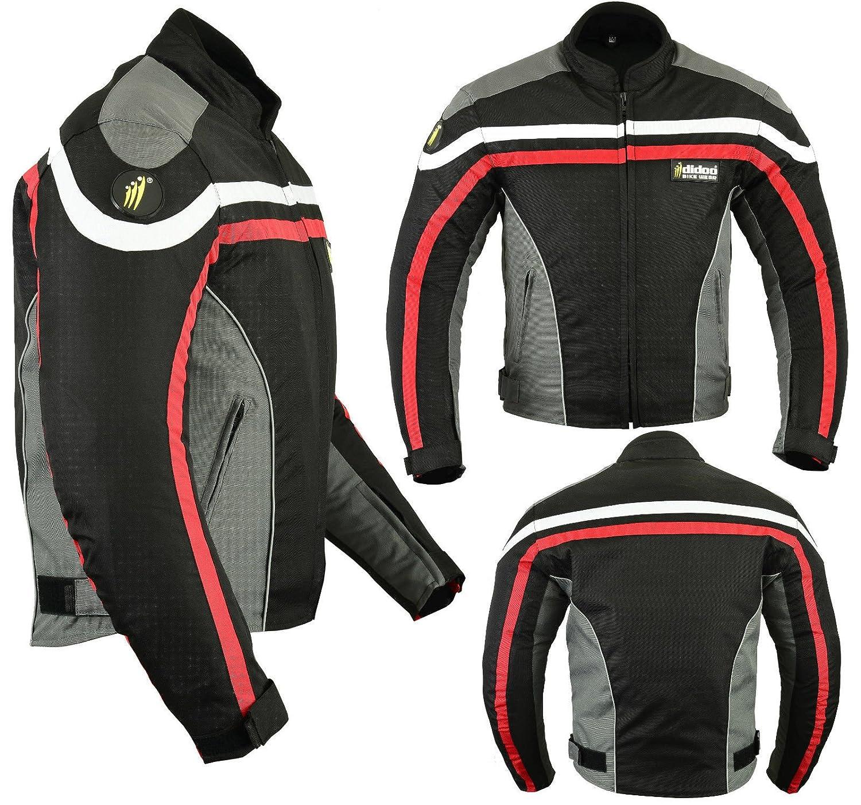 Textil Schwarz Texpeed Alle Gr/ö/ßen Motorradhose mit Protektoren Cordura Wasserdicht