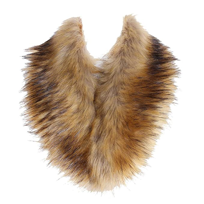 1930s Style Clothing and Fashion SoulYoung Faux Fur Collar Womens Neck Warmer Scarf Wrap  AT vintagedancer.com
