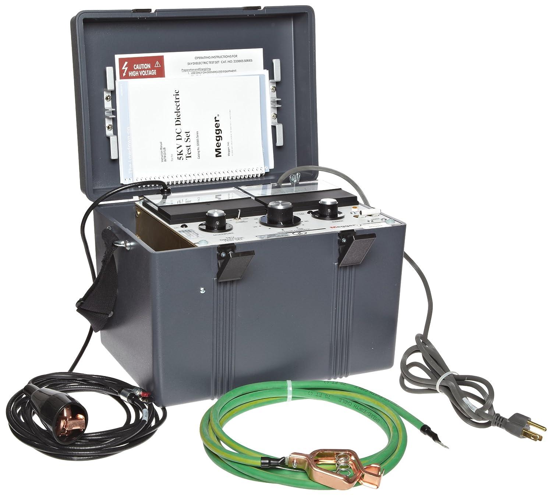 Megger 220005 Dc Dielectric Test Set 2 5kv 5 Kv Test Voltage 5ma Current Insulation Resistance Meters Amazon Com Industrial Scientific
