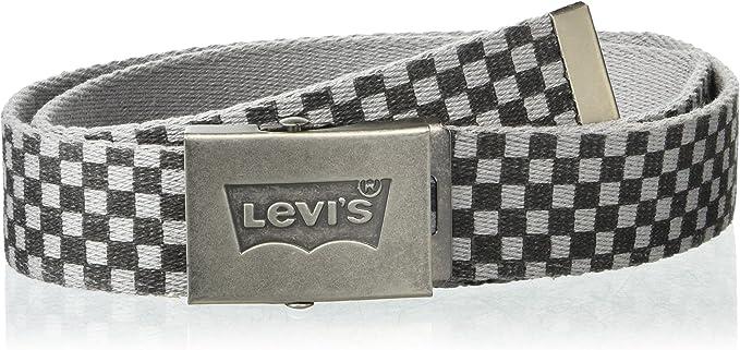 Levis Hombre 11LV02AP Cinturón - Gris - talla única: Amazon.es ...